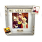 Love You Mum Personalized Scrabble Tile Frame Photography Family Print