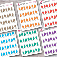 Inhalers Stickers, Asthma stickers, medication stickers
