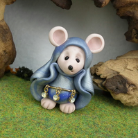 Downland Mouse 'Dell' Crop Gatherer OOAK Sculpt by Ann Galvin Gnome Village
