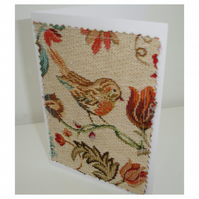 Bird Blank Greetings Cards Pack of Four Notelets Birds x 4