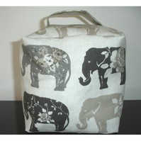 Door Stop Grey Elephants