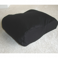 Tempur-Pedic Orignal Travel Neck Pillow Cover Orthopaedic Black
