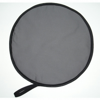 Grey Aga Hob Lid Mat Pad Hat Round Cover Surface Saver