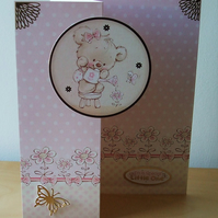 New Baby Card or 1st Birthday Card, To A Special Little One.