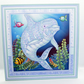 Dolphin Blank Any Occasion Square Greetings Card