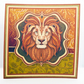 Lion Blank Any Occasion Square Greetings Card