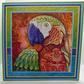 Parrot Blank Any Occasion Square Greetings Card