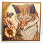 Fox Blank Any Occasion Square Greetings Card