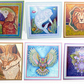 Set of 6 Blank Any Occasion Square Greetings Cards