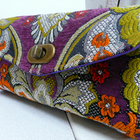 NCW wallet, ladies purple purse, sample, prototype, necessary clutch wallet,