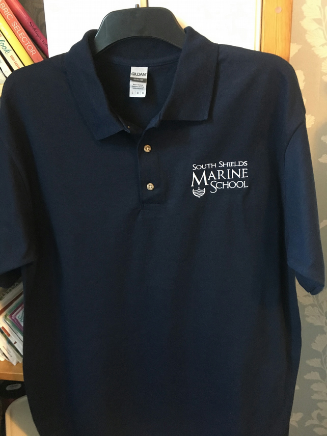 Polo shirt South Shields Marine School