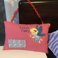 Tooth fairy hanging cushion