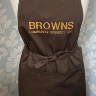 Aprons for company business