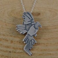 Sterling Silver Magpie Necklace