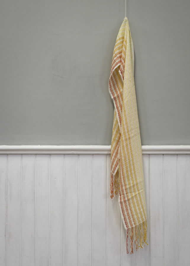 Sunset Handwoven Cotton Scarf