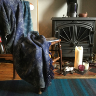 Handwoven Lambswool Whitby Blanket Throw