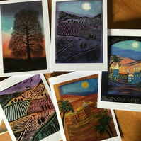 Paintings and cards
