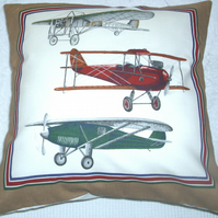 Planes of the early 1900s cushion B