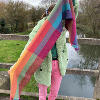 Colour Block - Handwoven Scarf