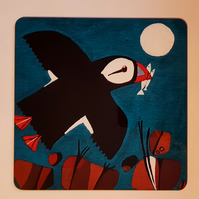 Place Mat Puffin