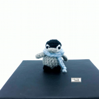 Miniature Penguin, crocheted by Lily Lily Handmade