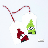 Penguin Gift Tags, by Lily Lily Handmade