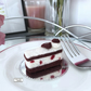 Black Forest gateau slice, needle felted by Lily Lily Handmade