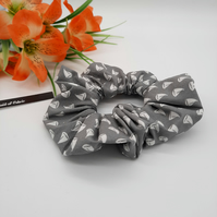 Scrunchie made using a light grey sail boat fabric.  3 for 2 offer.
