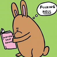 Watership Down - The Awful Truth Magnet