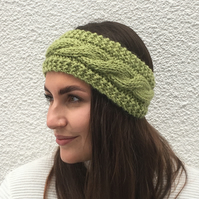 EARWARMERS, Headband .Alpaca, wool . Supersoft .Choice of colours . Eco friendly