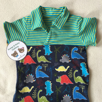 Age 6-9 months, Collared T-Shirt