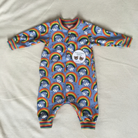 Age 6 - 9 months, romper long sleeves