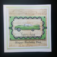 Personalised Male Biirthday Card, Son, Nephew, Grandson,Uncle, brother, friend,