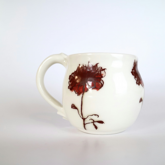 Shadow Rose Ceramic Mug
