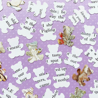 100 Beatrix Potter Teddy Bear Confetti - Baby Shower, Christening, Party Decor
