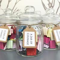 A Jar of Quotes - Choice of 9 - Handmade Quote Gift