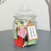 A Jar of Happiness - Quotes affirmations to inspire happiness and uplift