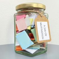 A Jar of Motivation - Positive Encouraging Quotes to Motivate
