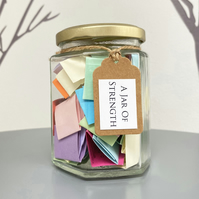 A Jar of Strength - Calming, Encouraging, Motivational quotes
