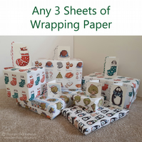 Mixed Pack of Wrapping Paper