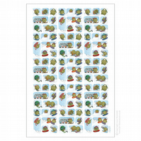 Snowsports Sprouts Tea Towel