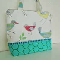 Large Cotton Toiletries Bag  with handles