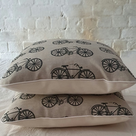 Vintage Bicycle Cushion