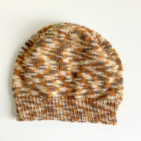 knitted hat, camouflage pattern hat