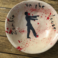 'Zombie  on the loose' cereal bowl
