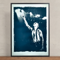 Keith Flint The Prodigy Hand Pulled Limited Edition Screen Print