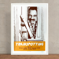 Here's Begbie! Trainspotting Limited Edition Screen Print