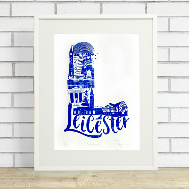 Leicester Limited Edition Screen Print
