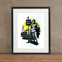 Holy Breakdown! Batman Hand Pulled Limited Edition Screen Print