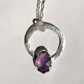 Amethyst Water drop Pendant